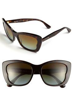 Miu Miu Butterfly Sunglasses | Nordstrom