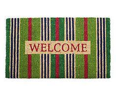 Zerbino rettangolare in fibra di cocco Welcome Stripes - 44x74 cm Doormats, Home Decor, Door Mats, Decoration Home, Room Decor, Home Interior Design, Home Decoration, Interior Design