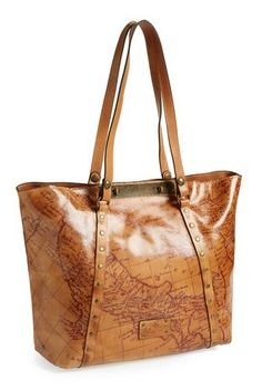 map print leather tote  http://rstyle.me/n/wmz72pdpe