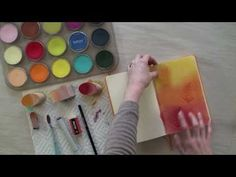 Dry Color Wash Technique for Art Journals. For mixed media, travel & art journals: learn how to use PanPastel Colors to create dry color washes for journal pages.