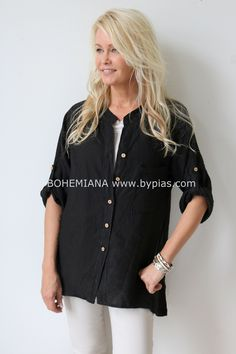 CHILL OUT Shirt, BLACK - New items - BYPIAS