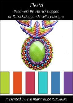 Colorway:  Patrick Duggan Jewellery Designs:  Visit blog:  http://patrickduggandesigns.blogspot.com/