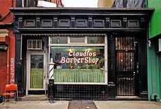 Shop front, New York
