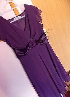 Kup mój przedmiot na #vintedpl http://www.vinted.pl/damska-odziez/sukienki-wieczorowe/16258055-fioletowa-sukienka-wieczorowa-terra-styll