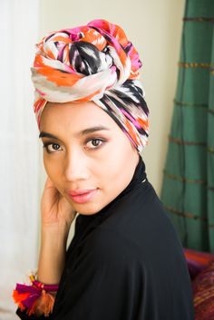 """""""I started experimenting with turbans. I cover my hair and that's one of the reasons to do so. I was just doing it everyday and got really good at it. Now, people can spot me a mile away, like, 'oh that's Yuna!'"""" http://www.thecoveteur.com/yuna-music/"""