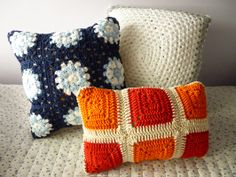 Crochet - 3 granny square tutorials