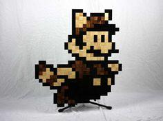 pixel art woodcraft