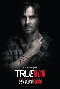 "TV066. ""Sam Merlotte - True Blood"" / Promo Tv Movie Poster (XVII) by Ignition Print (2009)"