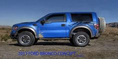 """2015 Ford Bronco Release Date, Raptor, Rumors, Concept, Interior"""".........I would trade my 2010 Raptor for this!"""