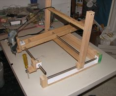 Dremel Carver/Duplicator like a Human Powered CNC Router
