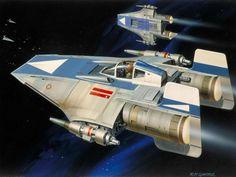 STAR WARS - Return of the Jedi concept art - Ralph McQuarrie (1929-2012)