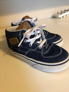 fb16643eefb Denim Half Cab Toddler Vans 7.5  fashion  clothing  shoes  accessories   babytoddlerclothing