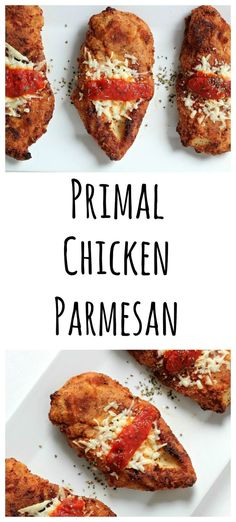This healthy version of Chicken Parmesan is easy to make and super delicious!