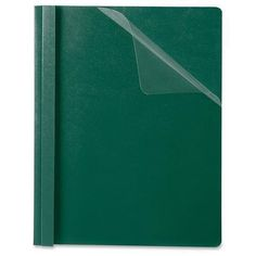"""58817 Oxford Premium Clear Front Report Covers - 0.50"""" Folder Capacity - Letter - 8.50"""" Width x 11"""" Length Sheet Size - Dark Green, Clear - 25 / Box #Oxford #Premium #Clear #Front #Report #Covers #Folder #Capacity #Letter #Width #Length #Sheet #Size #Dark #Green,"""