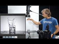 Profoto B1 AirTTL Review in the studio: Features and flash duration examined   Photigy Studio Photography School Photography Studio Setup, Photography Lighting Setup, Glass Photography, Food Photography Props, Photography Reviews, School Photography, Photography Lessons, Advertising Photography, Still Life Photography