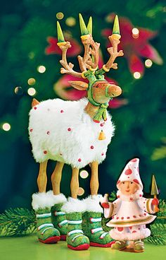 Blitzen and elf