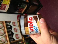 What...!? The latest Nutella product. Sweet.