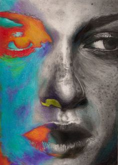 #art #artword #pencil #portrait #NoThoughtSwordfish #inspired