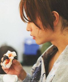 Takeru Satoh as Kenshin Himura. Rurouni Kenshin live action, behind the scene.
