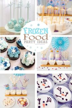 Frozen Party Ideas - KD Occasions + Designs - Event Planners + Handcrafted Party Decorations - Frozen Party Ideas Let's have fun creating an amazing Winter party. Check this amazing Winter Frozen Party Food Ideas and crafts. Let it Snow! Frozen Party Food, Frozen Birthday Party, 2nd Birthday Parties, 4th Birthday, Easy Party Decorations, Birthday Party Decorations, Snow Decorations, Party Food Platters, Party Treats