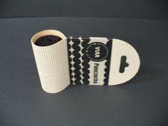 sock packaging by Šárka Diop, via Behance