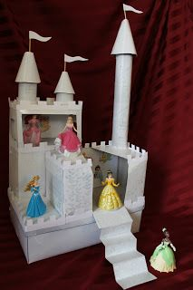 Cook and Craft Me Crazy: The Ultimate Cardboard Castle