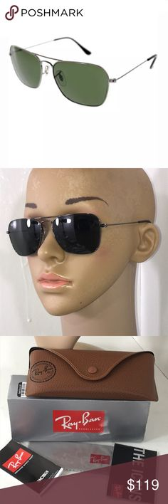 118343a5ce8b Ray Ban 3136 Caravan New Authentic Ray Ban 3136 004 Caravan New Authentic -  never worn