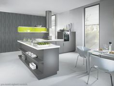 White And Grey Kitchen Designs Awesome Image | Kitchen Design Ideas