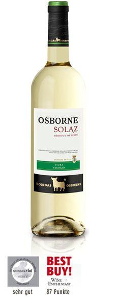 Osborne Solaz Blanco Viura Sauvignon Blanc