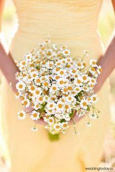 Matrimonio primaverile: il bouquet di Margherite The Wedding Italia
