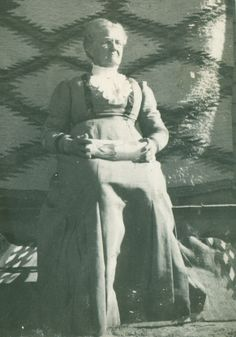 Julia Ann Culley Dillon (my great grandmother) visiting Laguna Pueblo in New Mexico in the early 1900's.