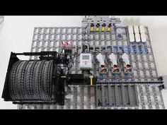 LEGO Mindstorms Technic Pin Sorter using compressed air - YouTube