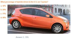 #TriviaTuesday: what percentage of hybrid vehicles driven in the U.S. are #Toyota vehicles? #SteetToyota