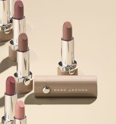 Break the mold with #NewNudes, an innovative gellified formula that glides on effortlessly #MarcJacobsBeauty #Lipstick