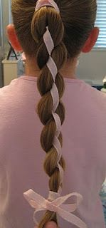 4 Strand Braid w/ Ribbon