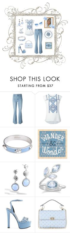 """""""Lighten Up with Denim"""" by mcronald-denise ❤ liked on Polyvore featuring Paige Denim, Veronica Beard, Alexander McQueen, Brooks Brothers, John Hardy, BillyTheTree, Gucci, Valentino and Wildfox"""