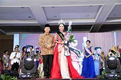 Fithria Apri Shely, Juara Putri Pariwisata Indonesia Bengkulu 2017 bersama Ptl. Gubernur Bengkulu