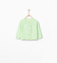 ZARA - KIDS - Basic buttoned cardigan