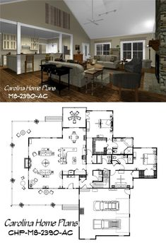 Open floor plan with bonus room above garage.