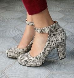 These are darling. Loving the chunkier heels.