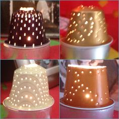 Nespresso capsules can be used in so many different ways. Christmas Ring, Christmas Crafts, Craft Gifts, Diy Gifts, K Cup Crafts, Deco Table Noel, Festive Crafts, Free To Use Images, Theme Noel
