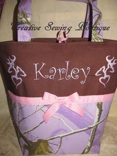 SHIPS FREE Handmade lavendar purple pink camo by creativesewing2, $54.99
