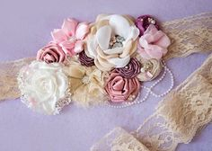 maternity sash on Etsy, £40.00 by randi