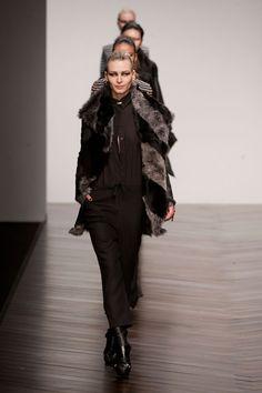 Aminaka Wilmont at London Fashion Week Fall 2013 - StyleBistro