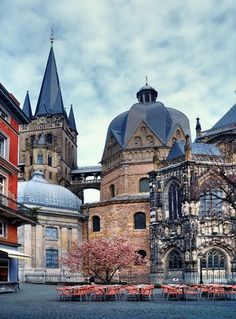 Visit Aachen Germany on your next vacation to Europe. Discover the history and culture of Aachen Germany. Cities In Germany, Visit Germany, Germany Travel, The Places Youll Go, Places To See, Urbane Fotografie, Aachen Germany, European City Breaks, North Rhine Westphalia