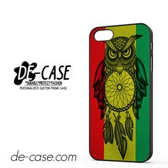 Owl Jamaican Flag DEAL-8361 Apple Phonecase Cover For Iphone SE Case