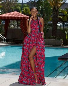 Ankara Xclusive: Latest African Dresses 2018 Most Trendy Ankara Collection for Ladies African Dresses For Women, African Print Dresses, African Attire, African Wear, African Women, African Prints, African Fashion Ankara, Ghanaian Fashion, African Inspired Fashion