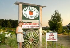 Go to Kiteley's Farm Market for the best You Pick fruits and vegetables in Northern Michigan.