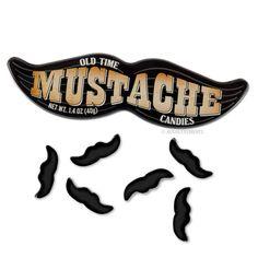 Mustache Candy