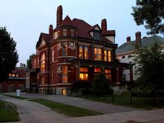 """""""Lindeke Mansion"""" built in 1885 located at: 295 Summit Ave, Saint Paul, MN 55102"""